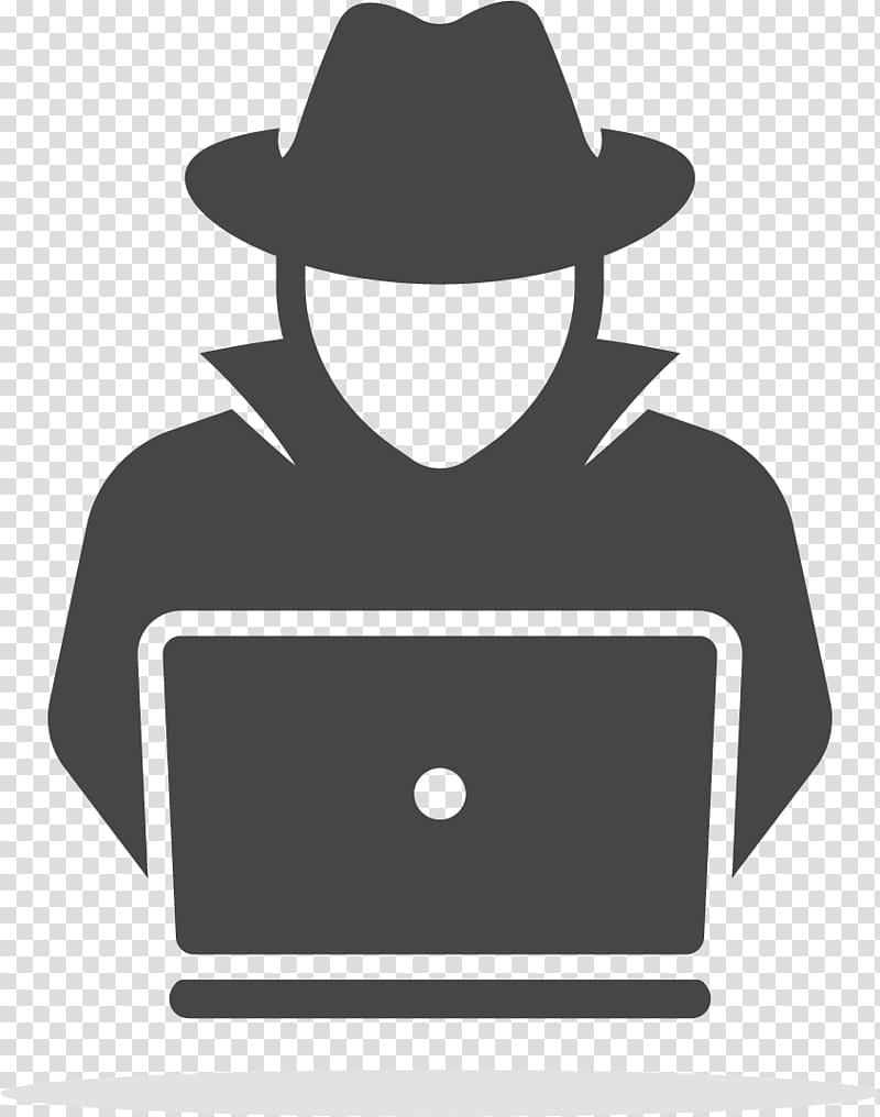 Hacker clipart transparent stock Laptop Security hacker Computer Icons Computer security , Laptop ... transparent stock