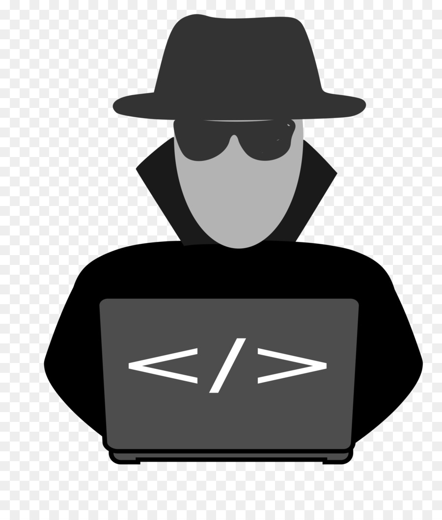 Hacker cliparts png transparent download Hacker Logo clipart - Product, Silhouette, Font, transparent clip art png transparent download