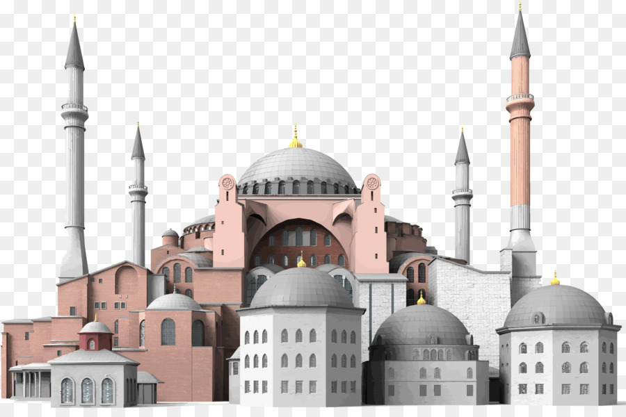 Hagia sophia clipart graphic freeuse download Turkey Cartoon png download - 2389*1558 - Free Transparent Hagia ... graphic freeuse download