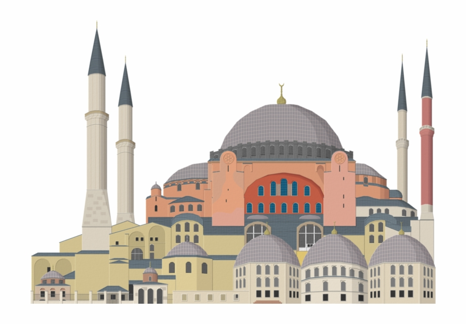 Hagia sophia clipart image download Mosque Png, Download Png Image With Transparent Background, - Hagia ... image download