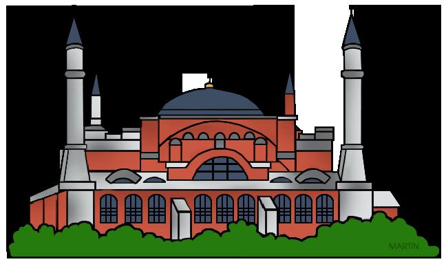 Hagia sophia clipart free stock Architecture Clip Art by Phillip Martin, Hagia Sofia free stock