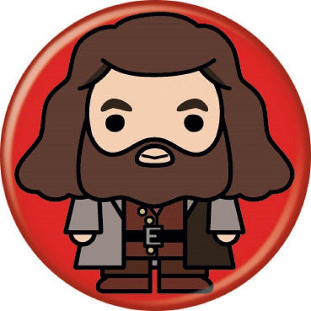 Hagrid clipart vector free download Amazon.com: Harry Potter Charms - Hagrid - Marvel - Pinback Button ... vector free download