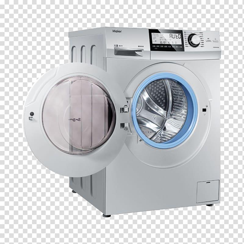 Haier logo clipart jpg black and white stock Washing machine Haier Detergent, Haier washing machine decoration ... jpg black and white stock