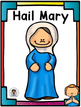Hail mary clipart vector library download Hail Mary Poster vector library download