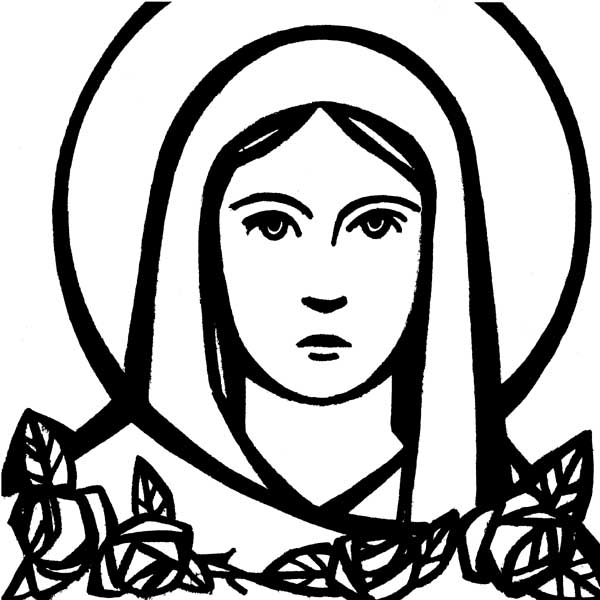 Hail mary clipart banner freeuse download Hail mary clipart jpg - Clipartix banner freeuse download