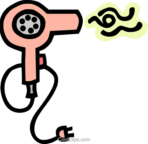 Hair blower clipart picture hair dryer Royalty Free Vector Clip Art illustration -vc012764 ... picture