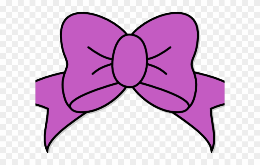 Hair bow clipart free clip free download Lilac Clipart Bow - Hair Bow Svg Free - Png Download (#2115269 ... clip free download