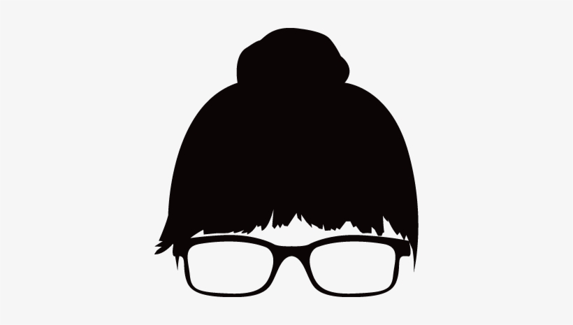 Hair bun clipart stock Silhouettes - - Hair Bun Clipart Png Transparent PNG - 378x385 ... stock
