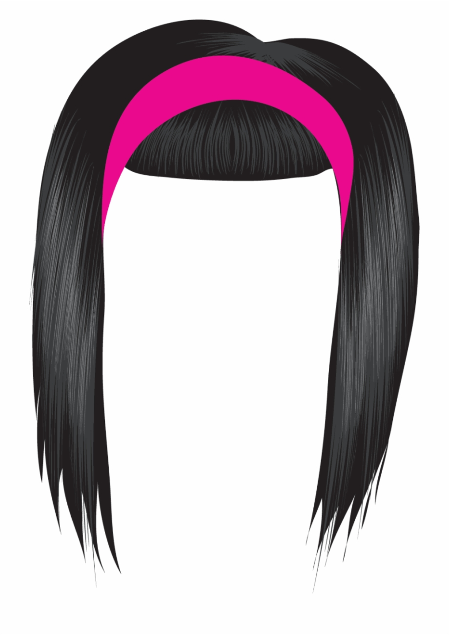 Hair clipart free download graphic library download Black Hair Clipart Free Clipart Images - Girl Wig Clipart Free PNG ... graphic library download