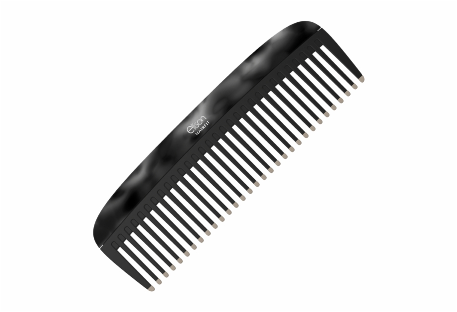 Hair comb clipart clipart transparent library Black Comb Normal Hair - Thick Combs Free PNG Images & Clipart ... clipart transparent library