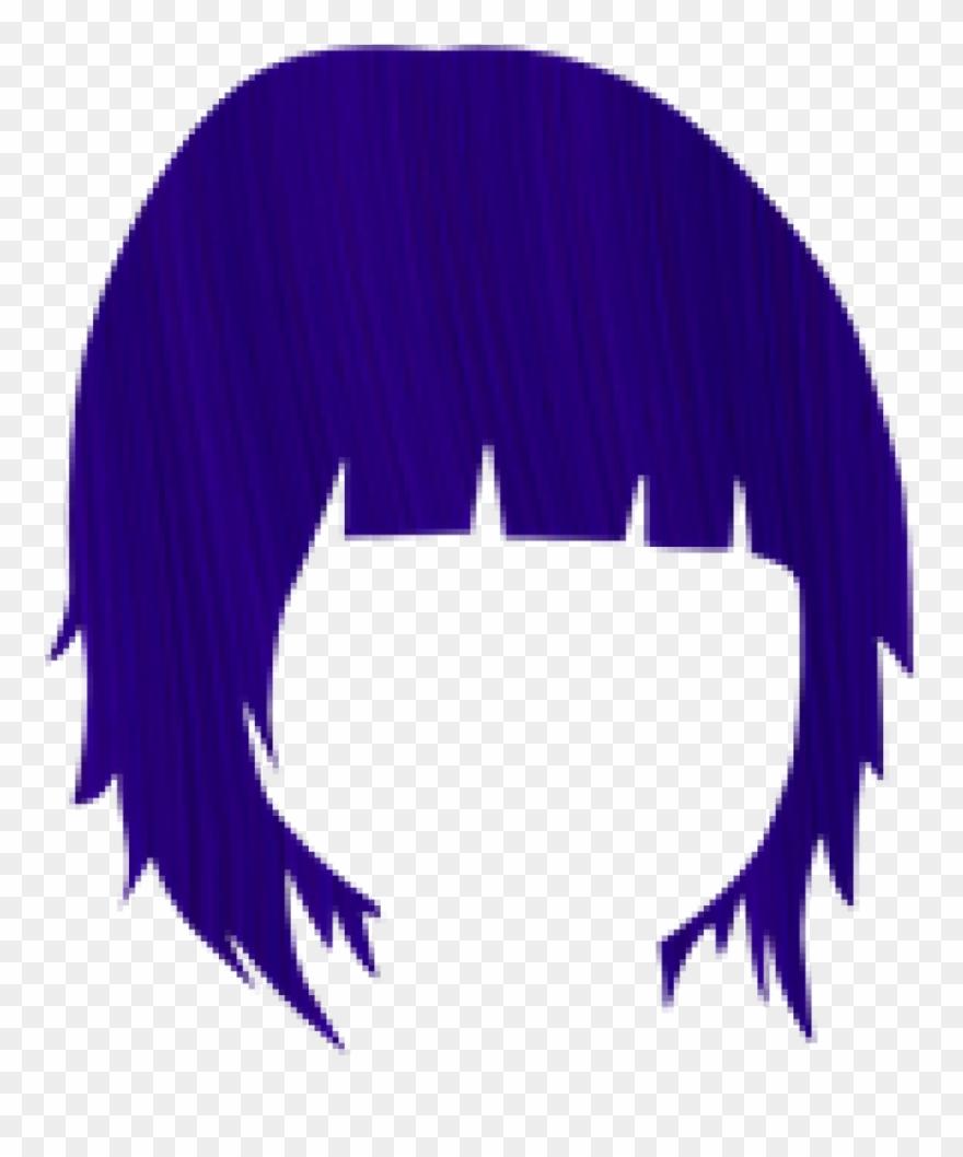 Hair dye clipart vector library Crazy Clipart Purple Hair - Crazy Color Semi-permanent Hair Color ... vector library
