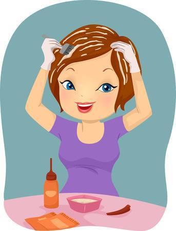 Hair dye clipart jpg royalty free download Hair dye clipart 5 » Clipart Portal jpg royalty free download