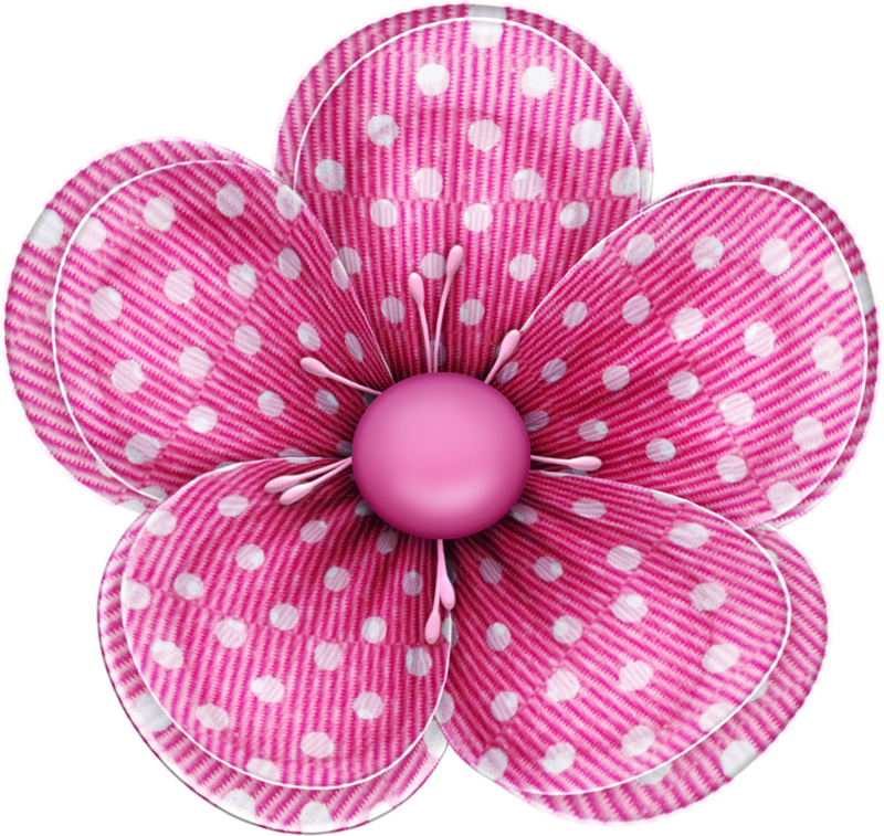 Hair flower clipart image royalty free library blushbutter_flower4_spots.png | Pinterest | Clip art, Flowers and ... image royalty free library