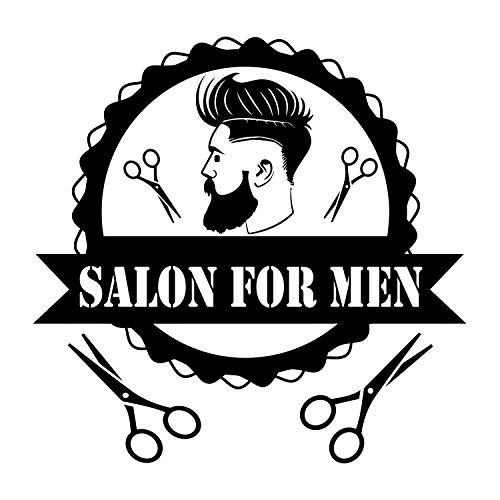 Hair style men clipart picture free Amazon.com: Salon for Men. Beauty Salon Wall Decal. Men Style Decor ... picture free