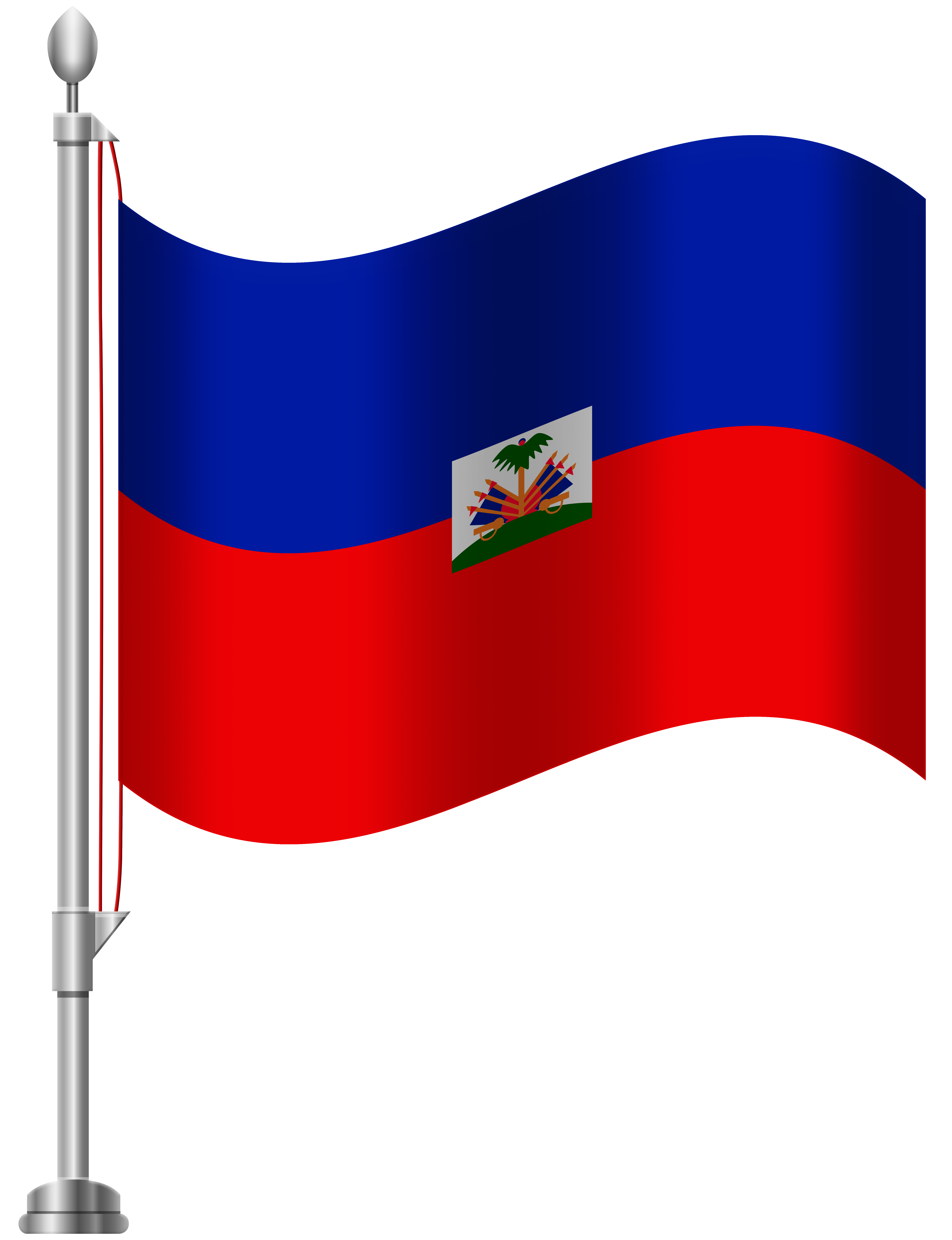 Haitian clipart graphic free Haiti Flag PNG Clip Art - Best WEB Clipart graphic free