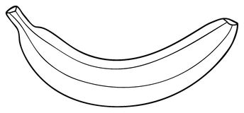 Half a bannana clipart black and white jpg black and white download Free Banana Clipart Black And White, Download Free Clip Art, Free ... jpg black and white download