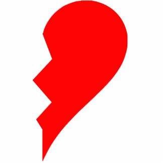Half a heart clipart graphic transparent download Half heart clipart 1 » Clipart Portal graphic transparent download