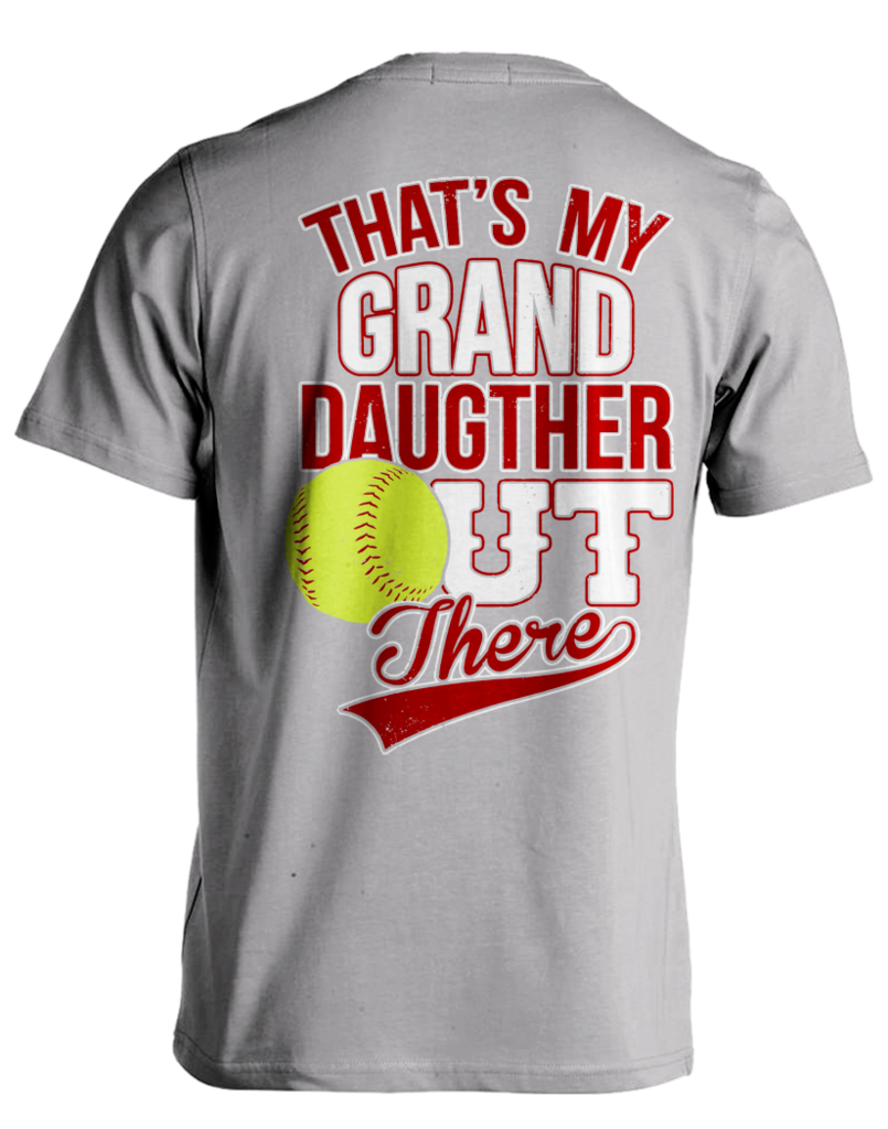 Half baseball half softball clipart clip freeuse That's My Granddaughter - Softball | Pinterest | Grandparents, Plays ... clip freeuse