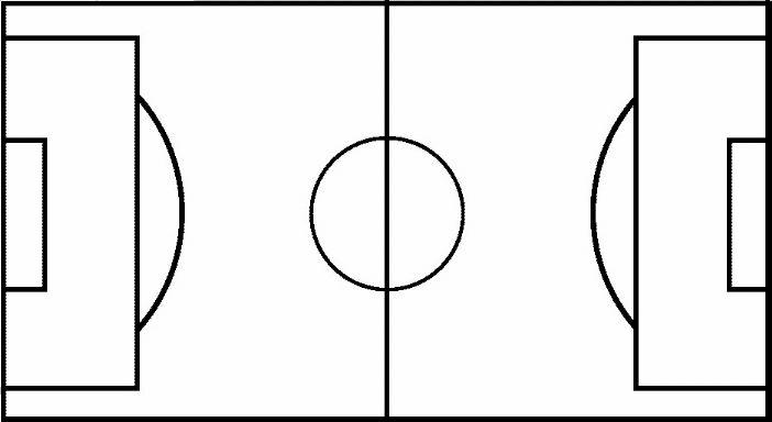 Half court shot black and white clipart clipart black and white library Collection of Basketball court clipart | Free download best ... clipart black and white library