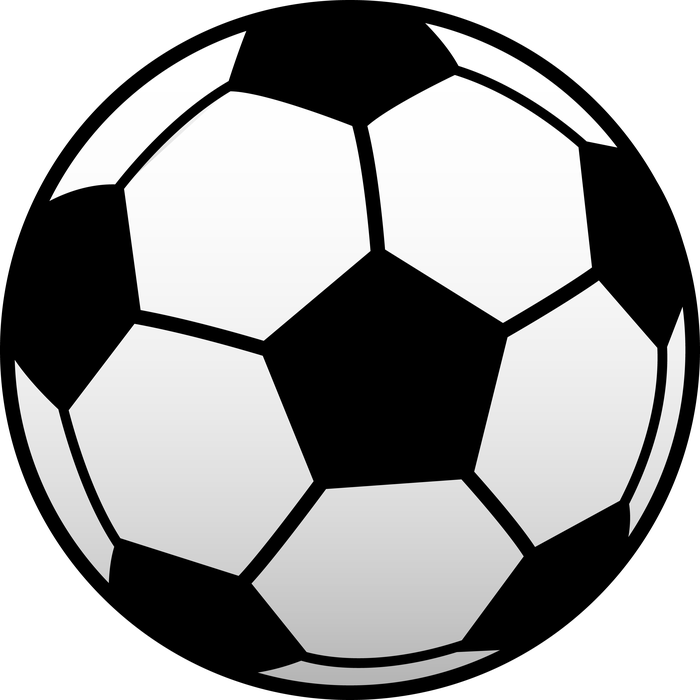 Half of a football clipart png black and white Trojan Daily png black and white
