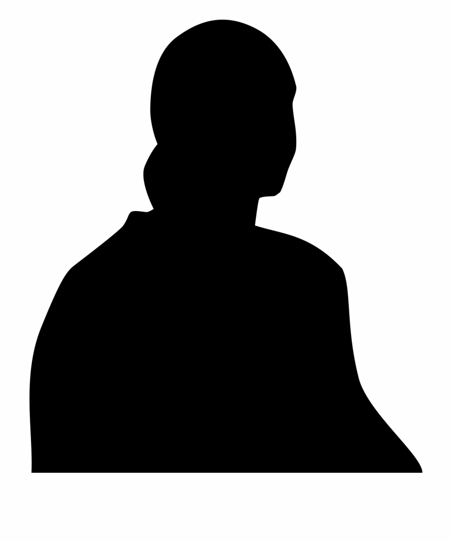 Half of a person s upper body clipart image free Free Mystery Man Silhouette, Download Free Clip Art, Free Clip Art ... image free