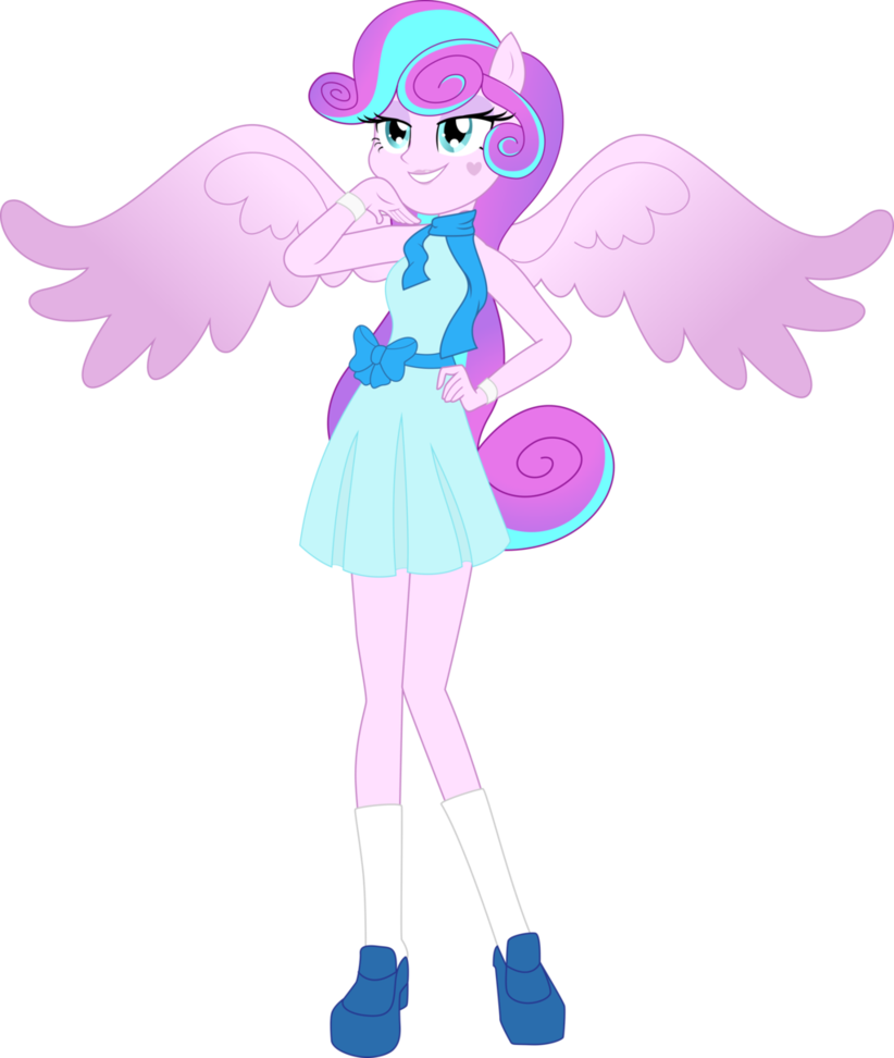 Half of my heart is in heaven with my angel clipart graphic library Flurry+Heart+the+Equestria+Girl+by+TheShadowStone.deviantart.com+on ... graphic library