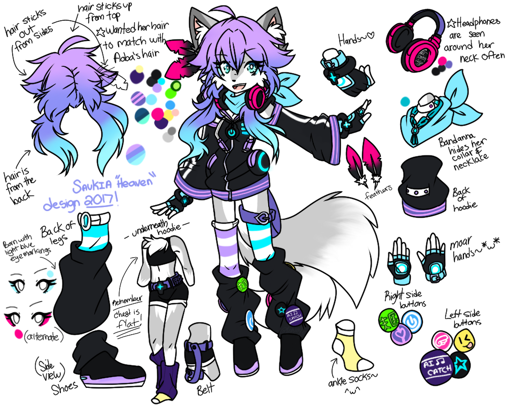 Half of my heart is in heaven with my angel clipart picture library download Fursona: Saukia 'Heaven' 2017 Ref. by Always-Love-Yourself on DeviantArt picture library download