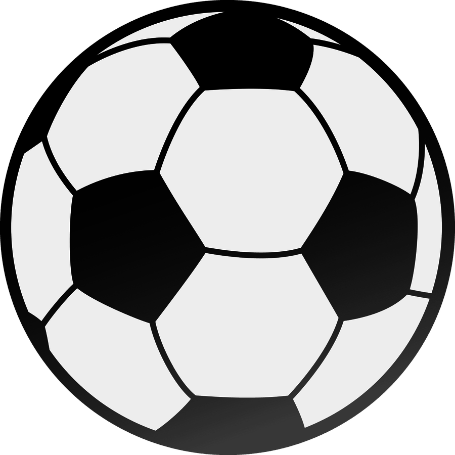 Half soccer ball clipart graphic black and white library Half Football Clipart - clipartsgram.com graphic black and white library