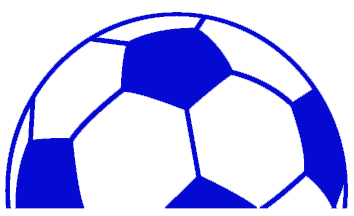 Half soccer ball clipart image royalty free EVHS > Boys Soccer image royalty free