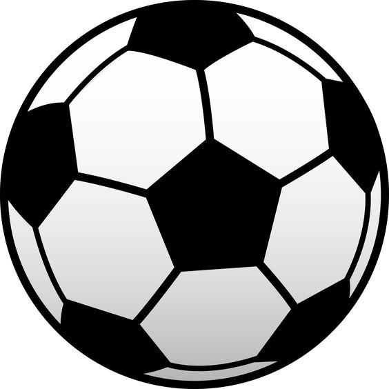 Half soccer ball clipart clipart transparent library soccer ball clip art | Soccer_ball_clip_art.png | charms ... clipart transparent library