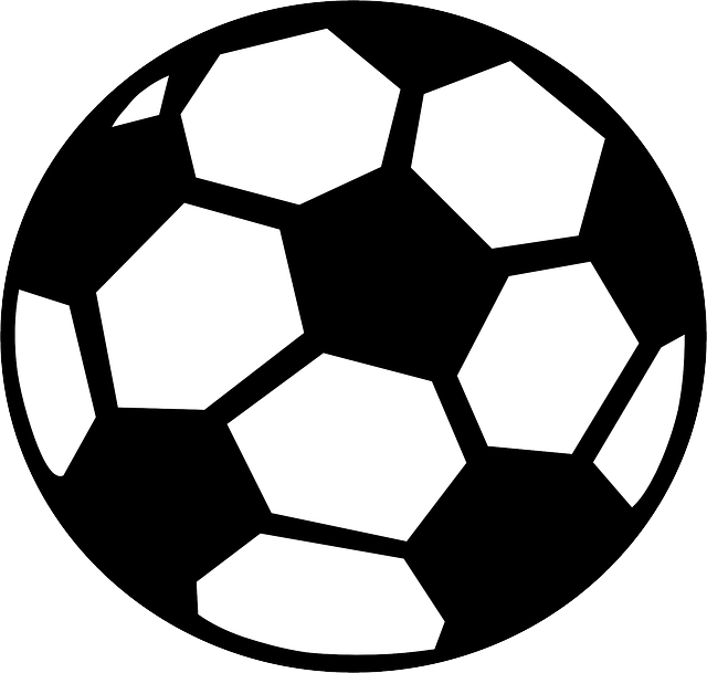 Half soccer ball clipart black and white graphic transparent stock Half Of A Football Vector Freeuse Library RR Collections Useful ... graphic transparent stock