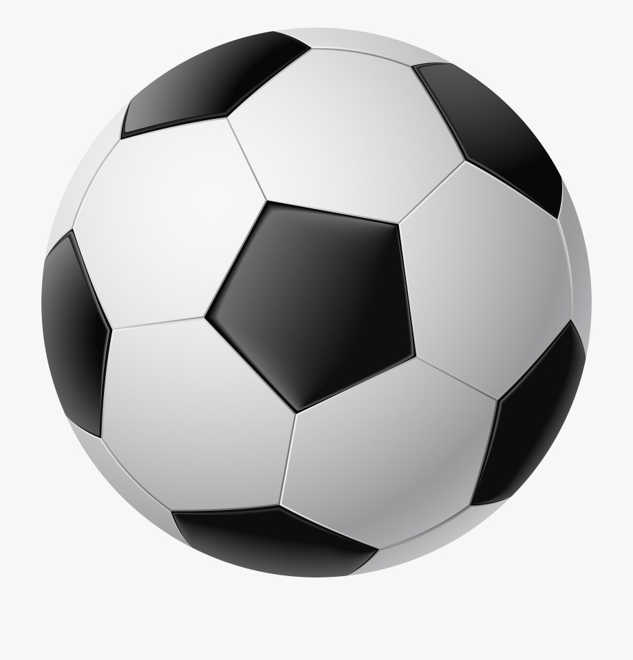 Half soccer ball clipart black and white graphic download Soccer Ball Clipart Transparent Background - Real Transparent ... graphic download