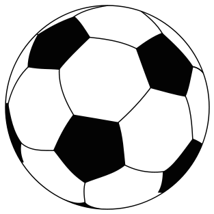 Hw to draw a soccer ball clipart vector black and white library How To Draw A Soccer Ball - ClipArt Best   templates   Soccer ball ... vector black and white library