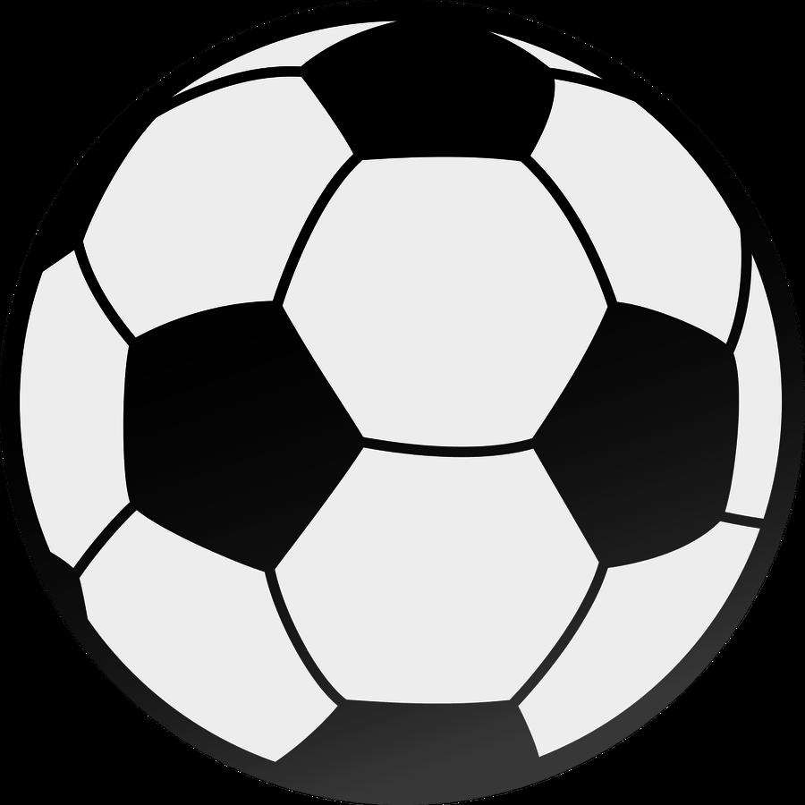 Half soccer ball clipart black and white clip art Balls Outline Cliparts - Cliparts Zone clip art