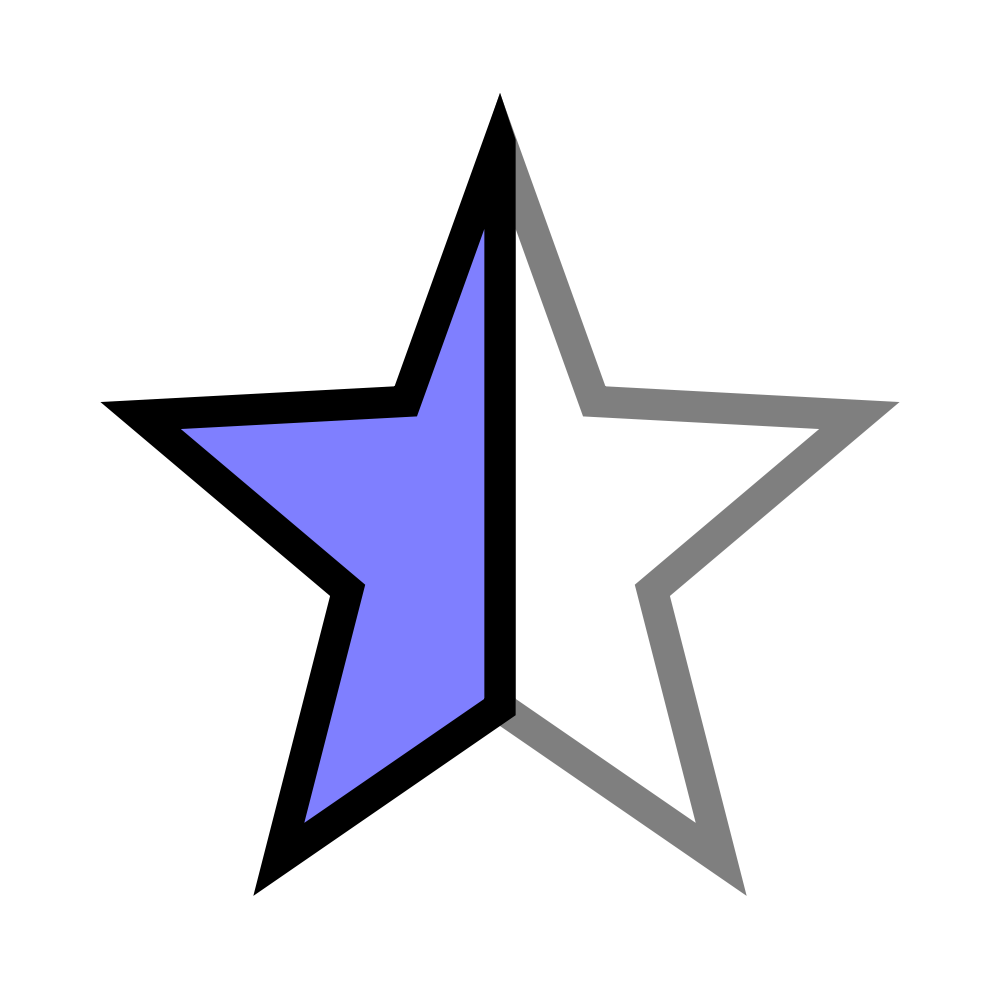 Half star clipart jpg Half (55+) Desktop Backgrounds jpg