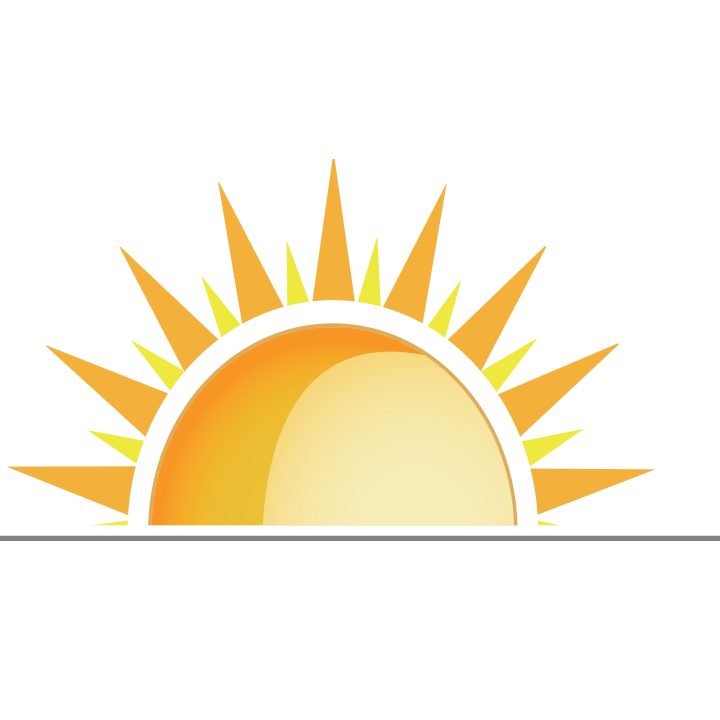 Half sun clipart svg royalty free stock Today's Power svg royalty free stock