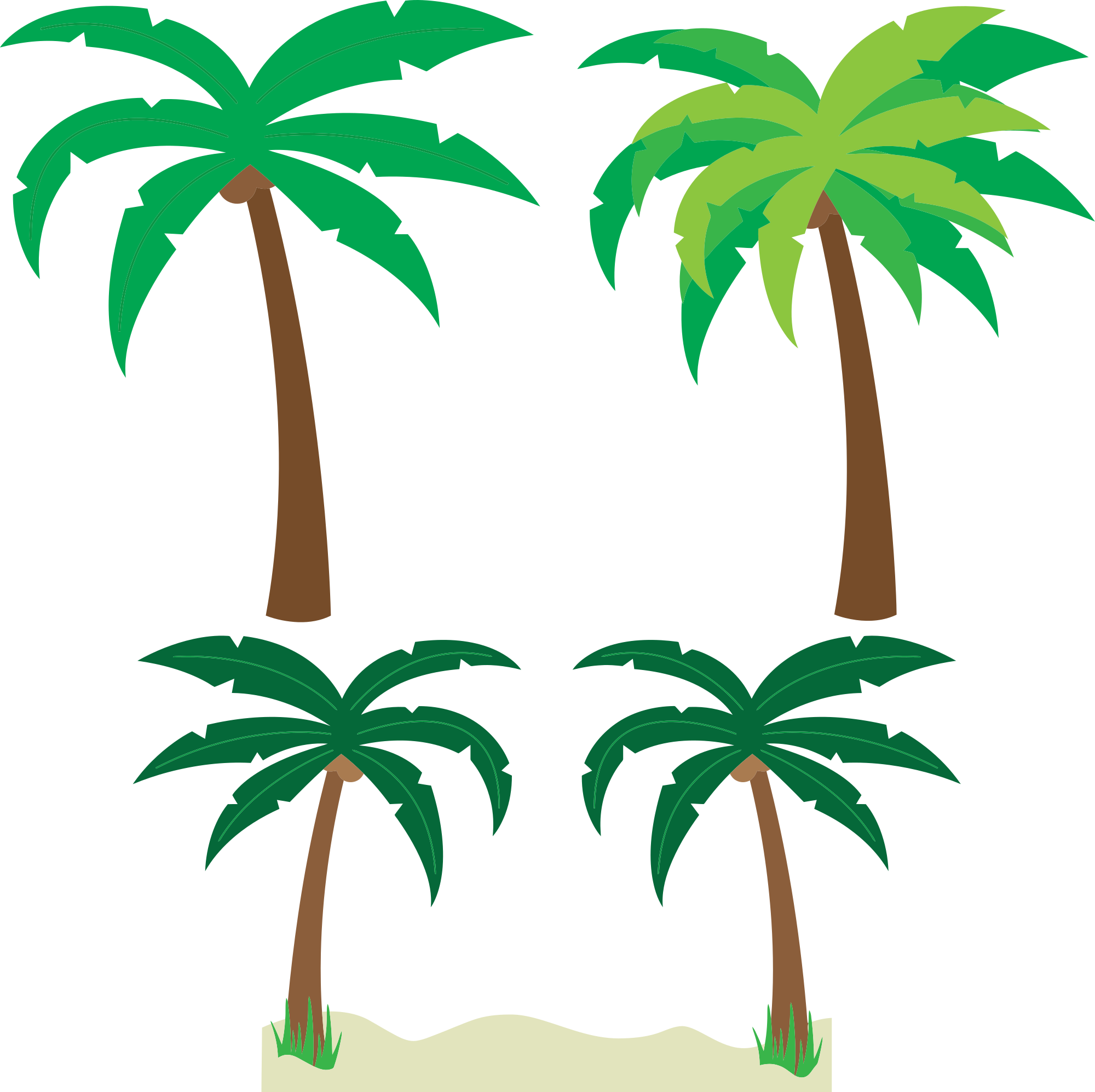 Tree removal clipart graphic freeuse stock Palm tree art tropical palm trees clip art clip art palm tree 5 3 ... graphic freeuse stock