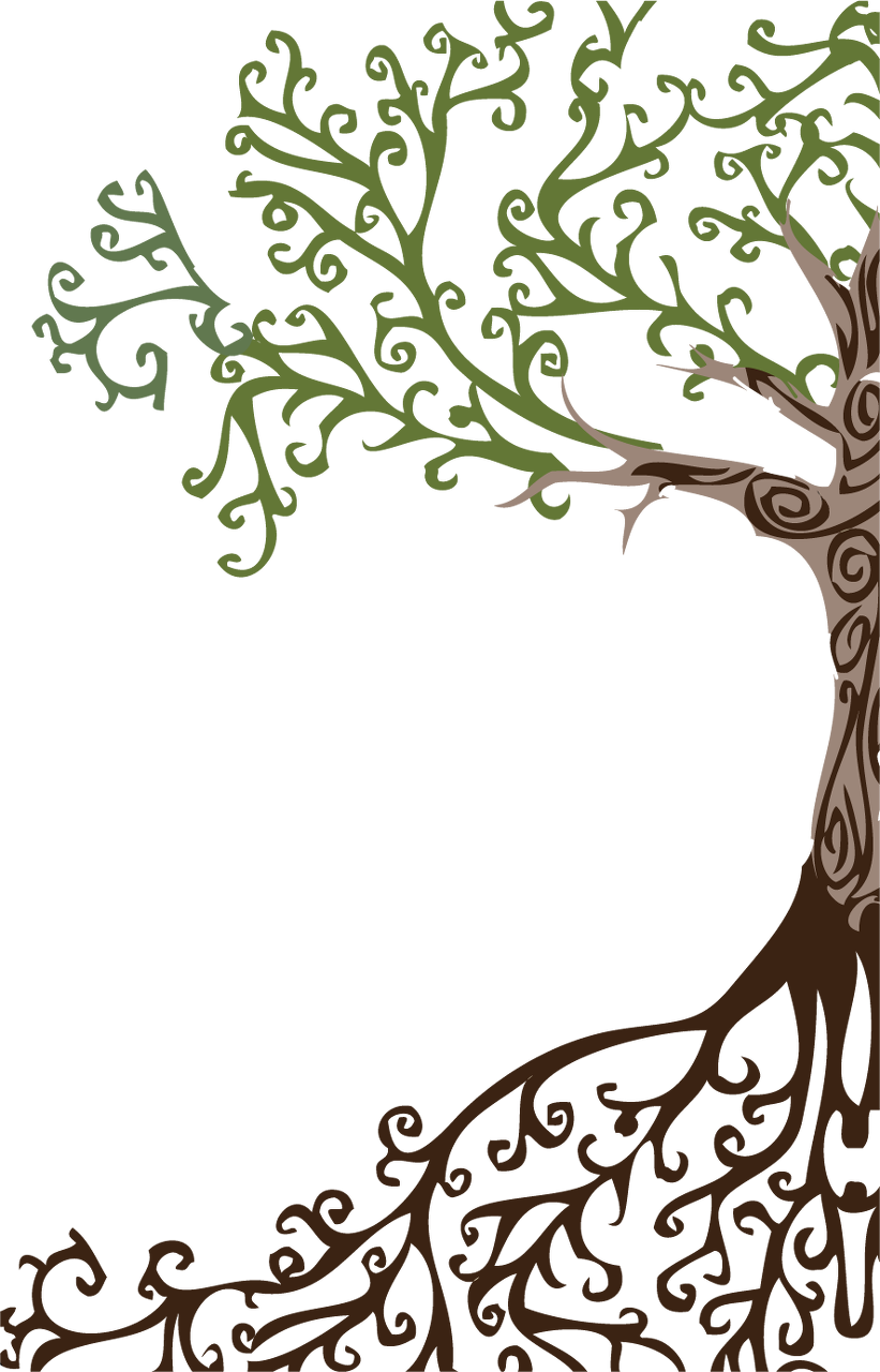 Half tree clipart banner royalty free Half Tree - Image Home Garden and Tree Rtecx.Com banner royalty free