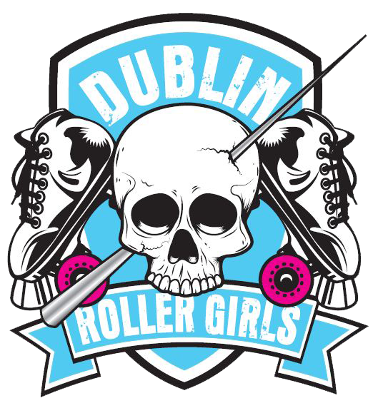 Halftone football clipart image download Dublin Roller Girls, I really like the logo. | Team Logos- Roller ... image download