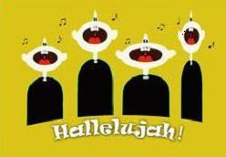 Hallelujah clipart free graphic black and white stock Free Hallelujah Clipart graphic black and white stock