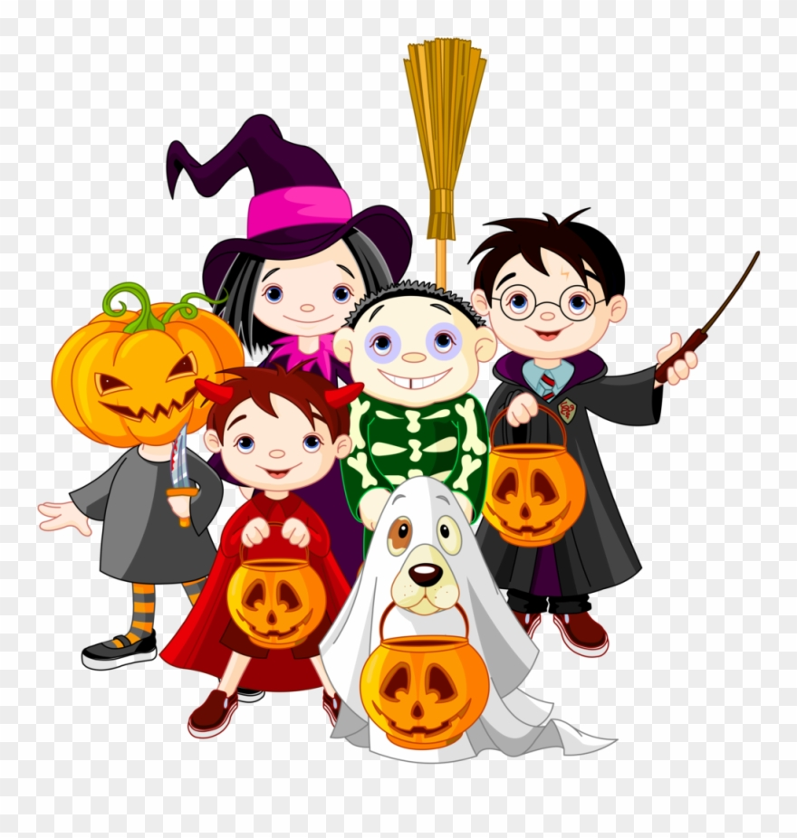 Hallween clipart picture library stock Childrens Halloween Clipart 6 Clip Art - Halloween Kids Clipart ... picture library stock