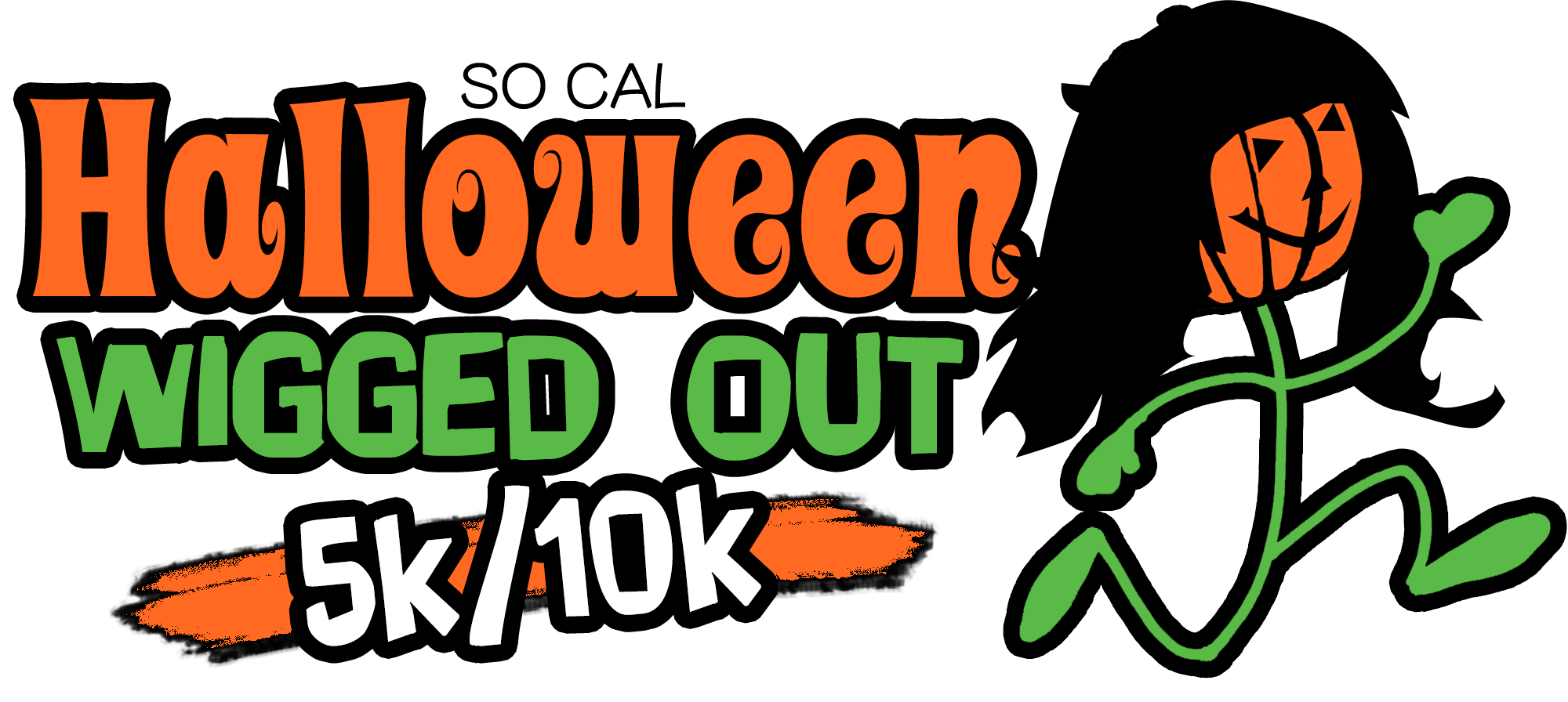 October halloween clipart clip art transparent Halloween Wigged Out 5k | Itz About Time - Electronic/Chip Timing ... clip art transparent