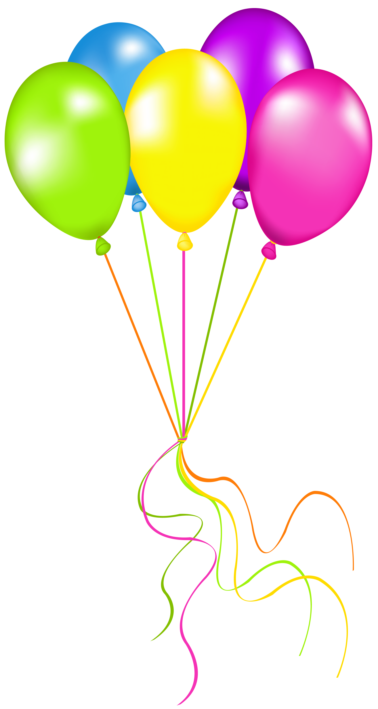 Halloween balloons clipart picture transparent download Neon Balloons PNG Picture | Gallery Yopriceville - High-Quality ... picture transparent download