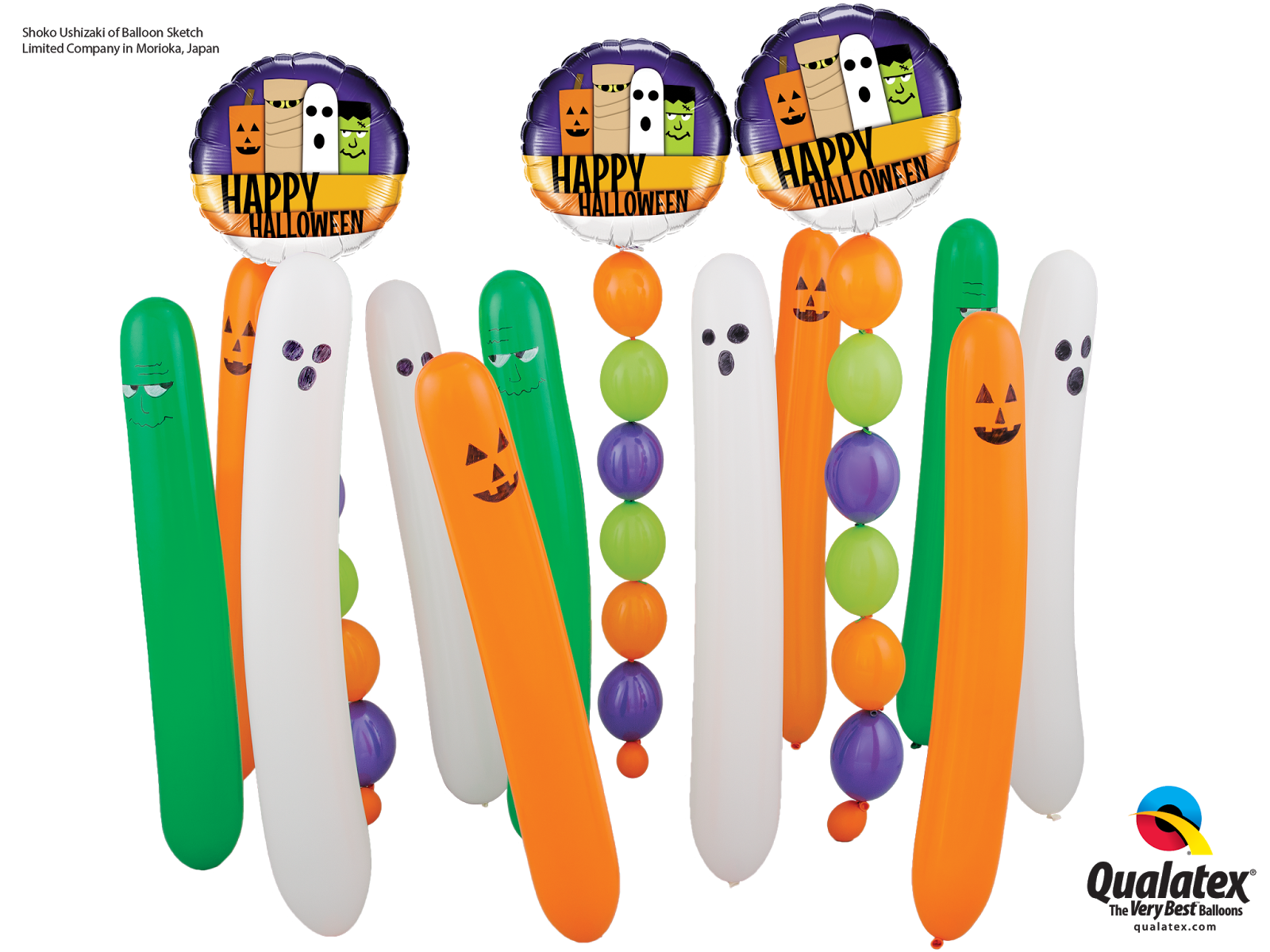 Halloween balloons clipart free stock The Very Best Balloon Blog: Trick or Treat - Inspiration for ... free stock