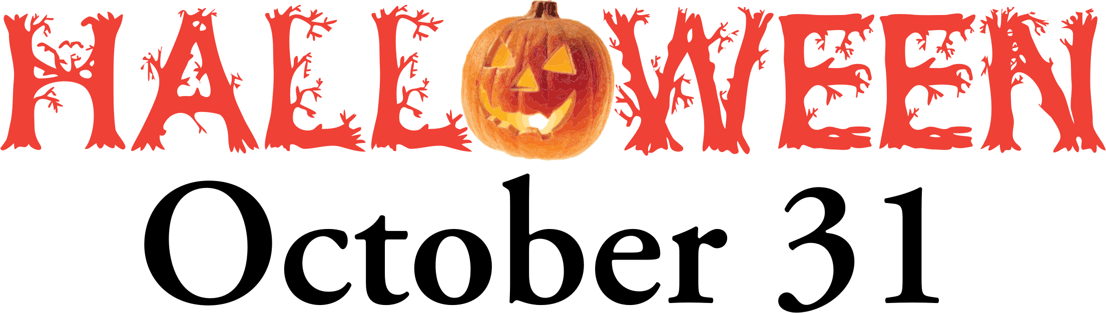 Halloween clipart banner clip art freeuse download Clipart - Halloween Banner clip art freeuse download