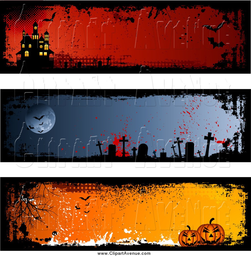 Halloween banner clipart free vector transparent download Free halloween banner clipart 4 » Clipart Portal vector transparent download