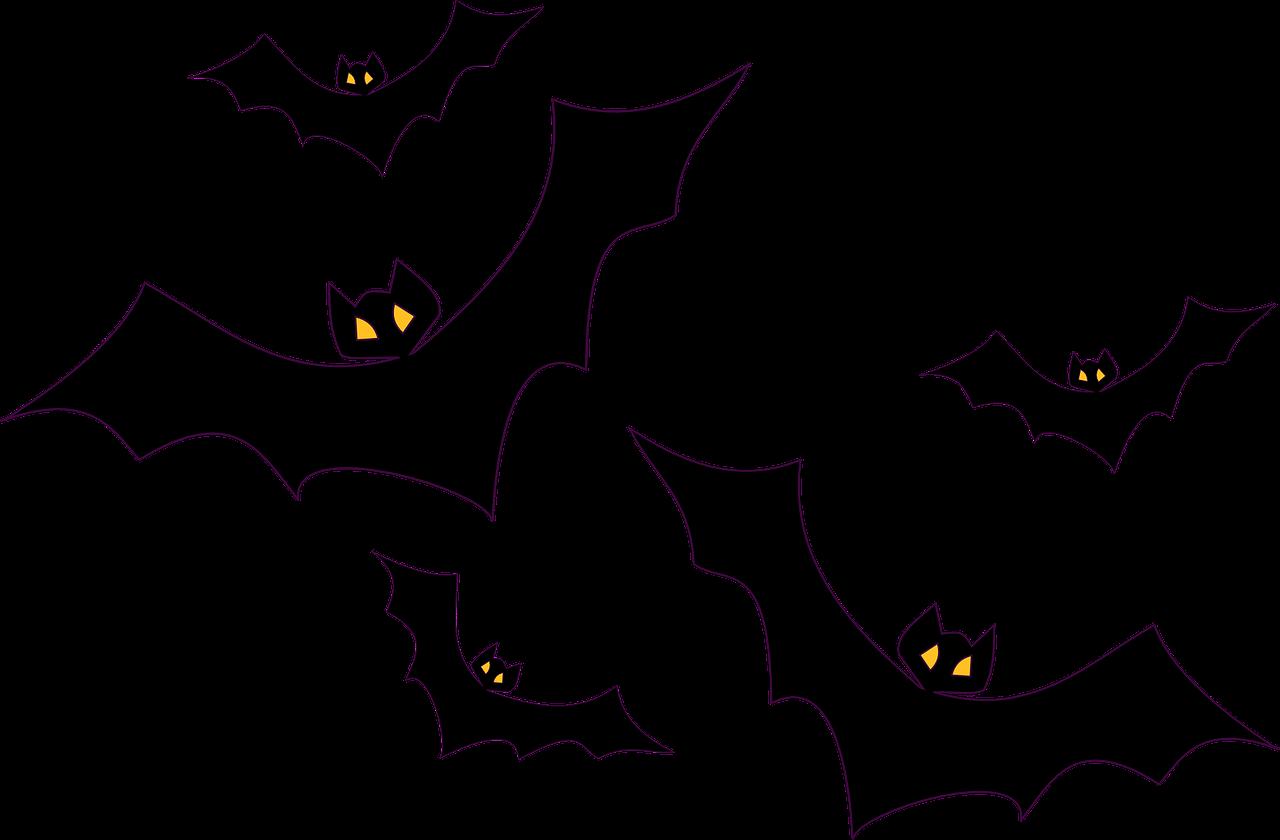 Halloween bat clipart black and white clip art Travel, Bats Flying Flight Halloween Black Birds M #travel, #bats ... clip art