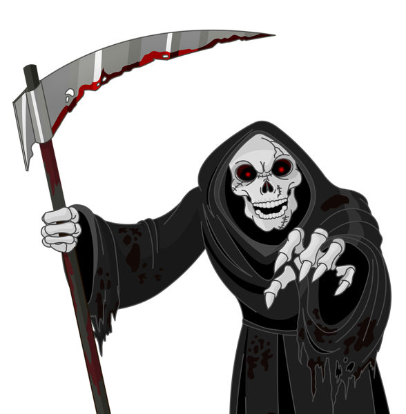 Halloween creepy clipart svg royalty free library Scary Grim Reaper PNG Vector Clipart | Halloween | Pinterest ... svg royalty free library