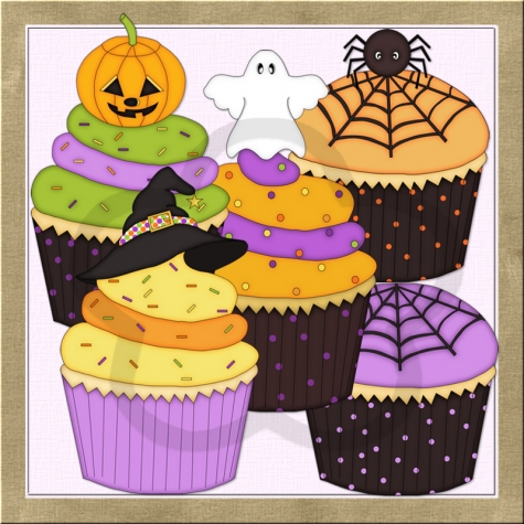 Halloween birthday cake clipart png black and white Halloween Birthday Clipart & Halloween Birthday Clip Art Images ... png black and white