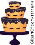 Halloween birthday cake clipart graphic free Royalty-Free (RF) Halloween Cake Clipart, Illustrations, Vector ... graphic free